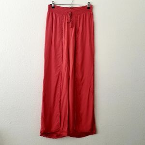 Time and Tru Coral Wide Leg Flowy Pants